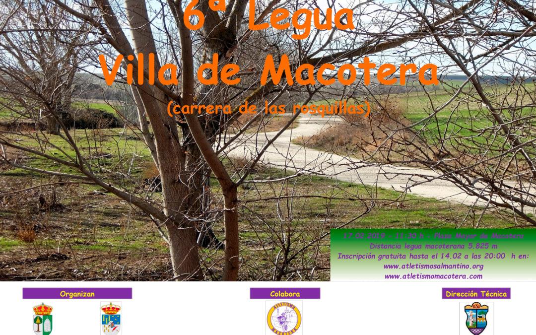 6ª Legua Villa de Macotera