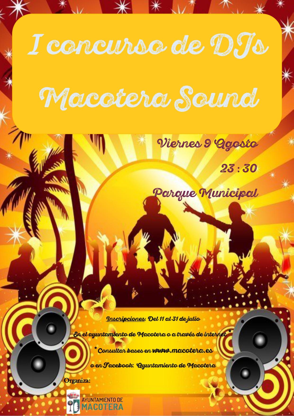 Concurso DJs MAcotera