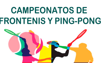 Campeonatos de frontenis y ping pong
