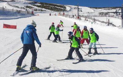 Programa de iniciación al esquí