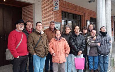 Visita de los alumnos de «El Cueto» a Macotera