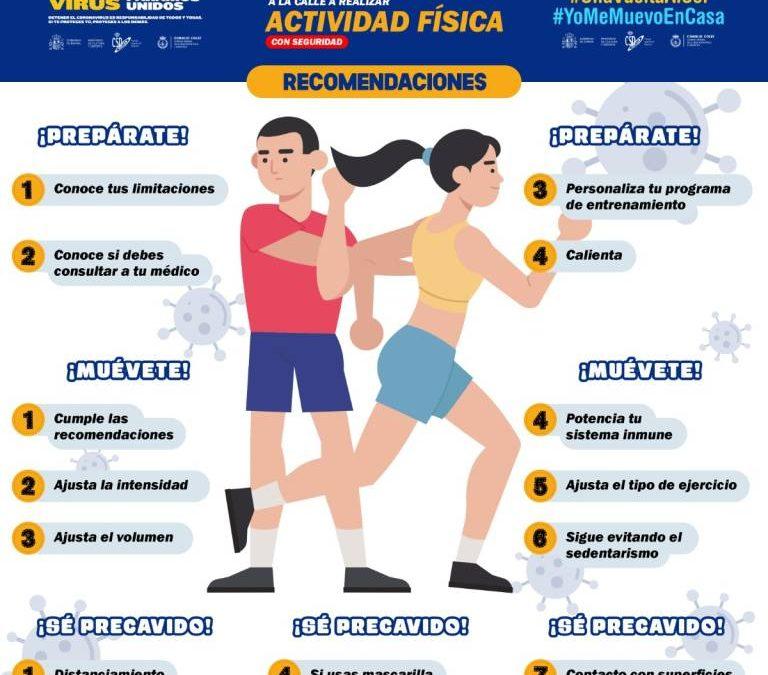 Recomendaciones para deportistas