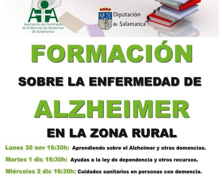 Formación sobre el Alzheimer