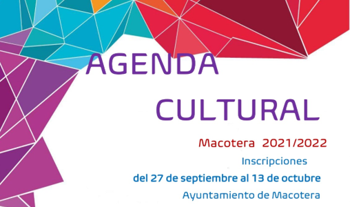 Agenda cultural 2021/2022